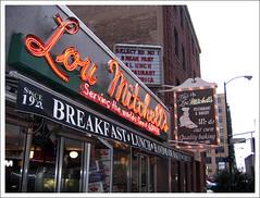 Lou Mitchell's exterior
