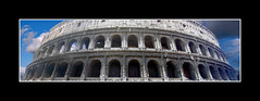 Sky Colosseum (turbomg) Tags: rome roma history panoramic colosseum explore panoramica romana colosseo storia ancientrome citteterna anticaroma coolpix2000 panoramicimages diamondclassphotographer photoexplore ofcreativa