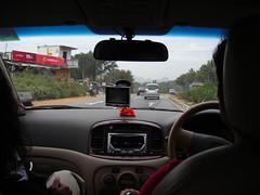 Inside the Tandons Car (aanjhan) Tags: trekking bangalore rappelling rbin ramnagar chimneyclimbing