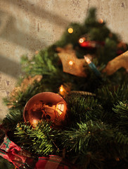 Merry Christmas! (Philipp Klinger Photography) Tags: christmas reflection tree texture orb ornament merry dcdead