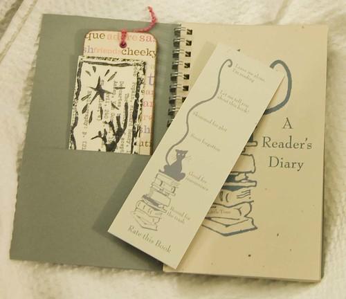 Reader's Diary - Inside Flap