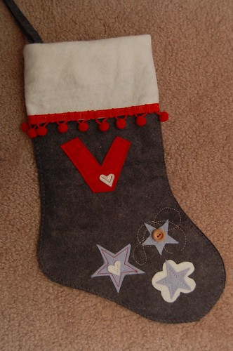 Veronika's stocking