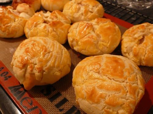 芋泥菠蘿麵包2