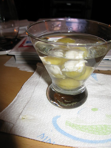 New Year's martini