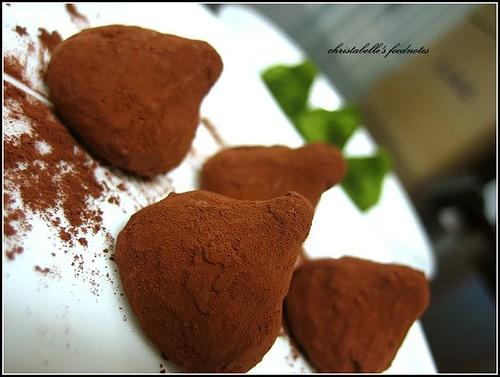 L'etoile季節師傅松露巧克力 truffle chocolate