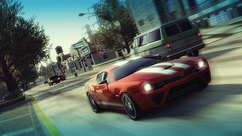 BURNOUT PARADISE for the xbox 360 & playstation 3 trailer