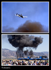 on attack prowl (Light Stalker) Tags: 350d xt salinas airshow planes a10 thunderbolt fighterplanes ef70300mmf456isusm