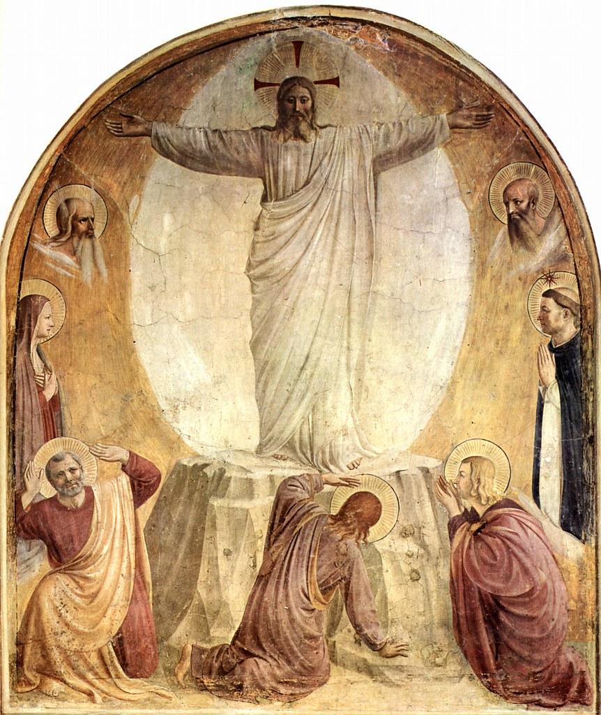 ANGELICO, Fra Transfiguration 1440-41