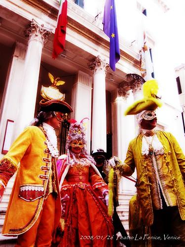 威尼斯嘉年華首日,鳳凰歌劇院