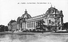 PARIS - Le Petit Palais - The little Palais (Jasperdo) Tags: old paris france building history architecture vintage europe postcard historic vintagepostcard oldpostcard lepetitpalais historicpostcard