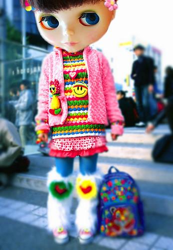 real blytje - harajuku blythe - by takahito@japan.