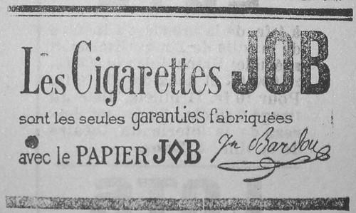 Cigarettes Job