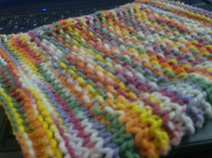 socksndishcloth 011 (crochet-along) Tags: knitting craft yarn dishcloth cotton