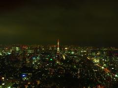 Tokyo Tower in Tokyo Night (Namisan) Tags: japan night tokyo tokyotower tokyonight