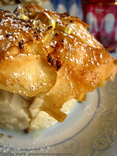 Ricotta Phyllo Parcels