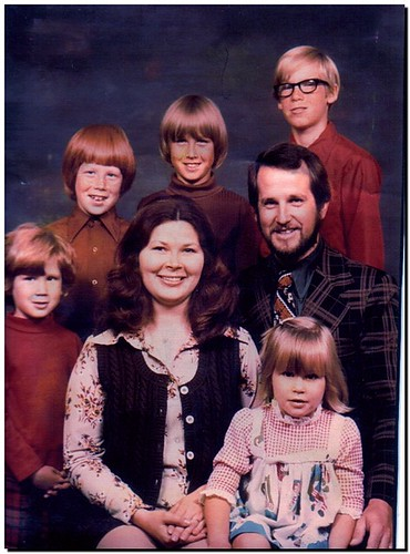 1970s Family Picture