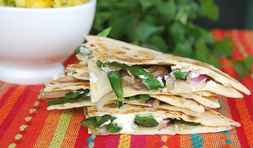 quesadilla close up
