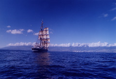 Stavros S Niarchos Tall Ship brig off Canaries (Adam & Debbie @ Classic Sailing) Tags: ocean sea sky adam water square islands ship tall tallship stavros canaries soe squarerigger rigger stavrossniarchos purser niarchos superbmasterpiece cannaries 1on1maritimephotooftheweek 1on1maritimephotooftheweekapril2008