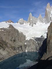 Fitz Roy - trek - lagune - sommets