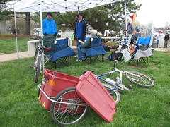 MoBikeFed at EarthFest 2008
