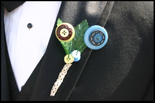 a button boutonniere