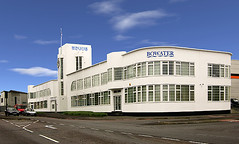 Former National Aircraft Factory, Croydon, London (Metropol 21) Tags: london architecture 1930s unitedkingdom modernism landmark clocktower artdeco flagpole croydon bowater whitebuilding msl streamlinemoderne waddon stylepaquebot merlinhouse