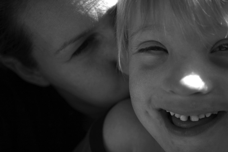 Kitzelstunde mit Mama