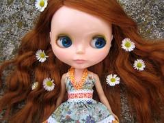 Welcome Belle!! (madrizmemata) Tags: blythe kenner 1972 redhead sidepart belle dollsville