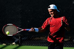 Abdullah Magdas (Eric Wolfe) Tags: california usa college sports losangeles unitedstates tennis ncaa racquet universities usctrojans pac10 original:filename=200804190195jpg abdullahmagdas