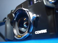 Contax G2 Black + Hologon 16mm f8 (digitalbear) Tags: black japan tokyo contax g2 16mm f8 hologon