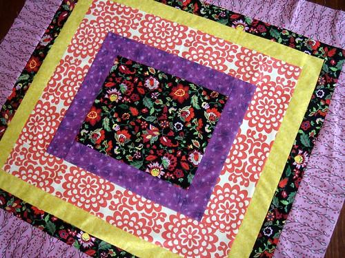 folk quilt top