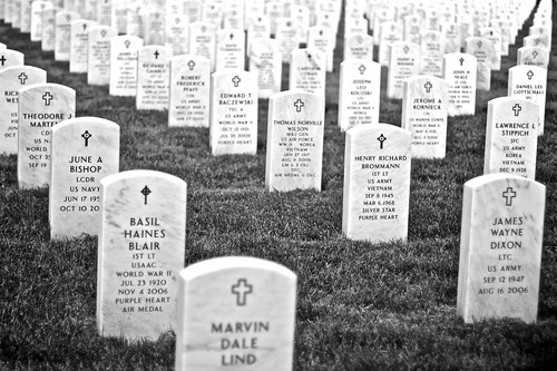 Headstones, Arlington National Cemetery