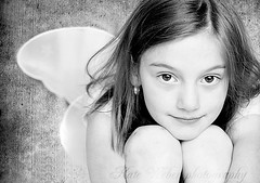 (Kate Weber photography) Tags: bw monochrome angel 50mm nikongirl d80 childrenphotography betharmsheimertexture