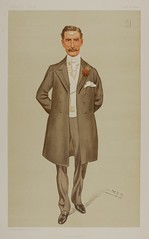 "Sir Herbert Eustace Maxwell, Bart.,  M.P., ""Wigtownshire"" (CCNY Libraries) Tags: portrait england male art print klein parliament spy caricature politician writer ccny lithograph vanityfair nac citycollegeofnewyork lesliematthewward herberteustacemaxwell"