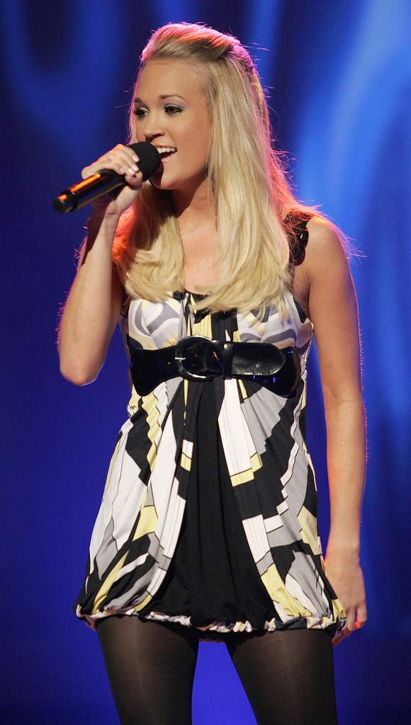 carrie underwood hair color. Carrie Underwood has always