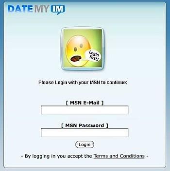 MSN/Live Phishing Site