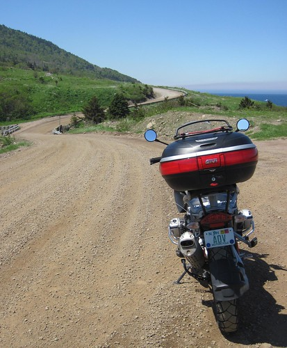 Riding to Meat Cove
