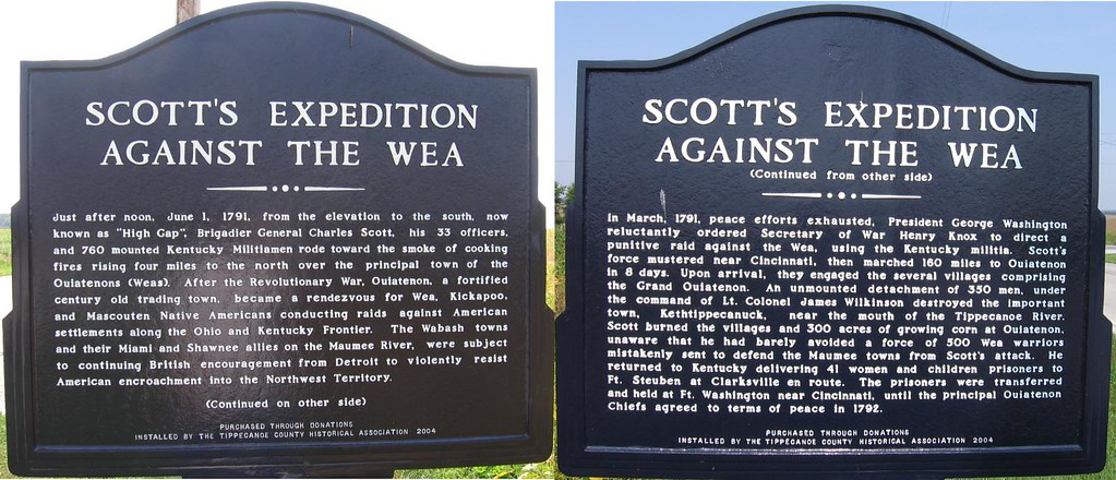 Scott's Expedition Against the Wea
