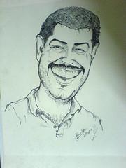 Ajith (Bharat KV) Tags: india smile star ultimate caricature tamil kollywood kumar ajith thala luckystar tamilactor bharatkv ajithkumar ultimatestar