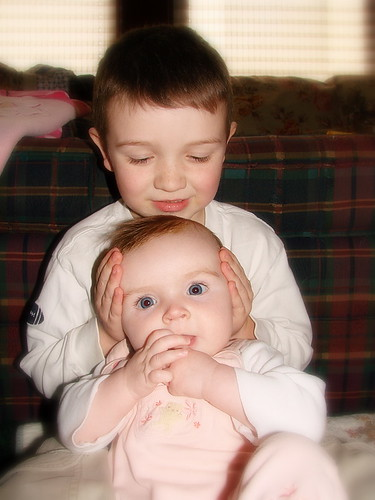 Ronan and Sadie....my nephew and neice