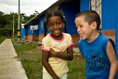 maria and juan smiling (fonsico) Tags: kids colombia banana bananas fairtrade montenegro antioquia socialresponsibility apartado uraba uniban fonsico diamondclassphotographer