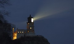 Split Rock Lighthouse (Tony Webster) Tags: longexposure light favorite usa lighthouse minnesota night interestingness beam northshore lakesuperior twoharbors diversey splitrocklighthouse deletethistag ctw2007r ccbync20150103 cgf1507 crv1523