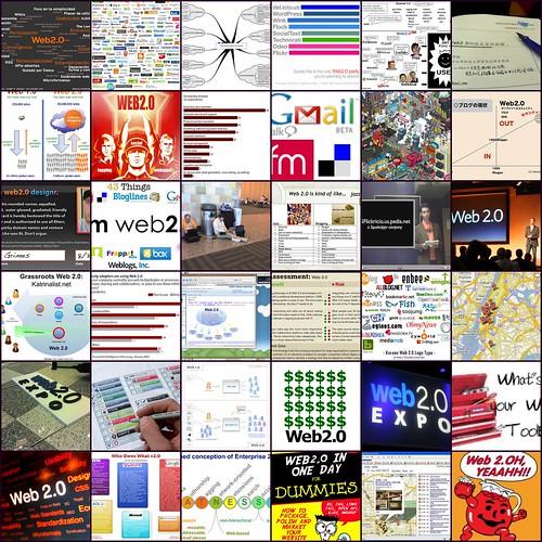 Web2.0 mosaic