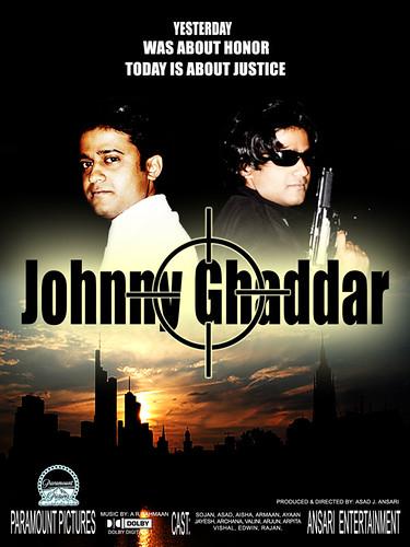 "Sojan in and as ""Johnny Ghaddar"""