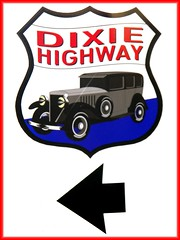 Dixie Highway (Kenny Shackleford) Tags: auto sign georgia vehicle acworth dixiehighway neverbeenthere creativephotographers highway293