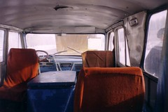 GAZ CTAPT interior (the new trail of tears) Tags: start gaz visit soviet zil 1961 minibus ussr eisenhower ctapt