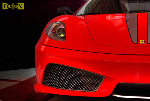 A perfect car picture: Ferrari F430 Scuderia