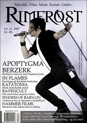 Rimfrost Magazine | Norway 12.07