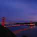 Night View of Golden Gate Bridge 金门大桥夜景