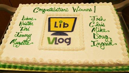 Vlog Cake